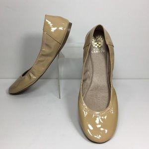 Vince Camuto Ellen Patent Leather Ballet Flats 11